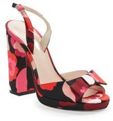 Kate Spade Briana Floral Platform Sandals Jessa Leather Pumps