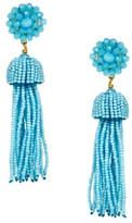 Lisi Lerch Beaded Tassel Earrings