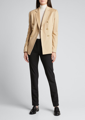 Kiton Cashmere Double-Breasted Blazer