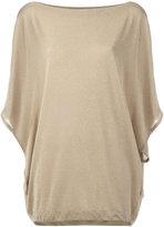 I'M Isola Marras oversized top - women - Polyamide/Polyester/Spandex/Elastane/Viscose - L