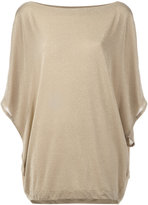 I'M Isola Marras oversized top - women - Polyamide/Polyester/Spandex/Elastane/Viscose - S