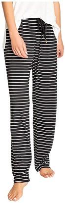 PJ Salvage Modern Modal Sleep Pants (Black) Women's Pajama
