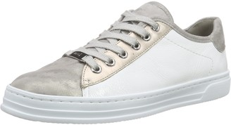 ara Courtyard Womens Low-Top Sneakers Grey - Grau (chiara platin/weiss 12) 6.5 UK (40 EU)