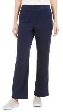 Karen Scott Sport Microfleece Pants, Created for Macy's