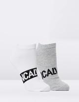 Calvin Klein Men's Trainer Socks 2-Pack