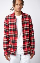 Vans Banfield II Plaid Flannel Long Sleeve Button Up Shirt