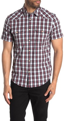 Lucky Brand Western Plaid Classic Fit Shirt