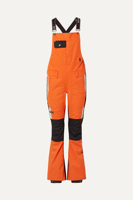 P.E Nation + Dc Snow Ski Overalls - Orange