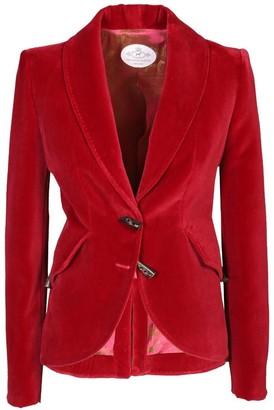 The Extreme Collection Red Velvet Blazer Mademois Elle