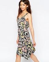 Wal G Skater Dress In Floral Print