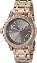 Nixon Women's A4102214-00 38-20 Analog Display Japanese Quartz Rose Gold Watch
