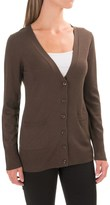 Pendleton Two-Pocket V-Neck Cardigan Sweater - Merino Wool (For Women)