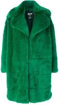 MSGM fur coat