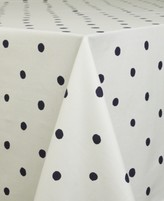 "Kate Spade Charlotte Street Navy Oblong 60"" X 102"" Tablecloth"