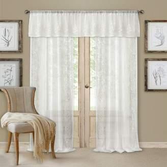 "Addison Curtain Set with Semi-Sheer Panel, 52"" x 84"""