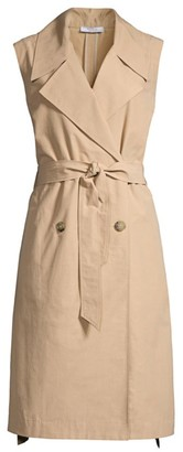 Peserico Tech Cotton Trench Dress