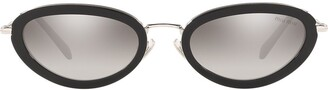 Miu Miu Délice cat-eye frame sunglasses