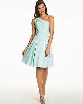 Le Château Cotton Sateen Fit & Flare Dress