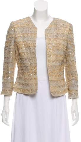 Giorgio Armani Beaded Silk Jacket