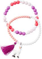 Carter's 2-Pack Llama and Tassel Beaded Bracelets