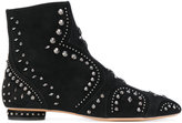 Valentino studded boots - women - Leather/Suede - 36