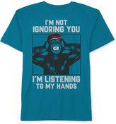 Hybrid Graphic-Print Cotton T-Shirt, Big Boys (8-20)