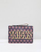 House of Holland Bag Of Tricks Clutch