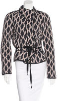 Isabel Marant Quilted Tie Jacket