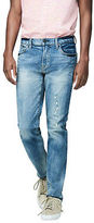 Aeropostale Mens Skinny Medium Wash Reflex Jean