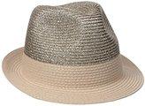 Collection XIIX Women's Lurex Fedora Hat