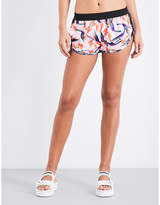 PUMA X SOPHIA WEBSTER Puma x Sophia Webster Birds of Paradise-print shell shorts