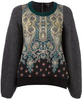 Etro paisley print jumper - women - Silk/Cotton/Polyamide/Wool - 40