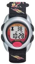 Timex Kid's Digital Watch with Flames Strap - Black T78751XY