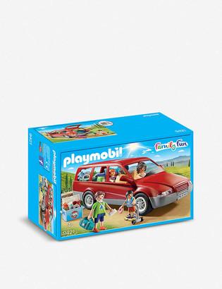 Playmobil Family Fun Family Car playset