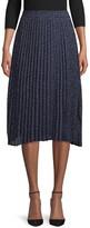 Lea & Viola Dot-Print Pleated Skirt