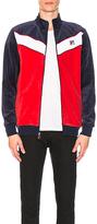 Fila Chevron Velour Jacket