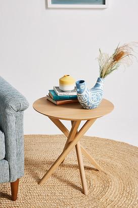 Ethnicraft Oak Mikado Side Table By in Beige Size ALL