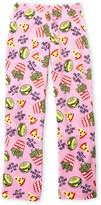 So Nikki (Girls 7-16) Burger & Fries Plush Pajama Pants