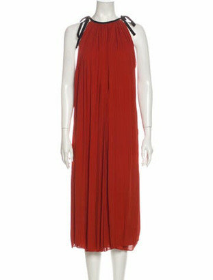 Gucci 2013 Midi Length Dress Brown