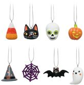 Celebrate Halloween Together Halloween Ornaments 8-piece Set