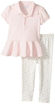 Ralph Lauren Cotton Polo Leggings Set Girl's Active Sets