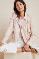Paige Silvie Leather Moto Jacket