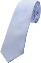 Oxford Silk Tie Reg Lt Blue X