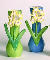 The Well Appointed House Dana Gibson Hyacinth Bulb Vase-Available in Two Different Colors