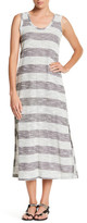 J Valdi Knit Stripe Midi Cover-Up