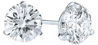 Kwiat Stud Platinum & Diamond Solitaire Round Stud Earrings/0.30 TCW