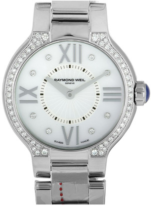 Raymond Weil Women's Stainless Steel Diamond Watch