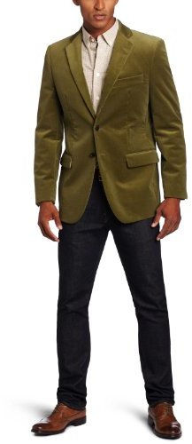 Joseph Abboud Men's Two-Button Side-Vent Corduroy Coat
