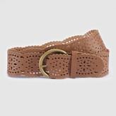 Anne Weyburn Leather Belt