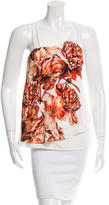 Sachin + Babi Printed Asymmetrical Top